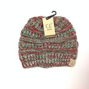 New C.C Kids Knitted Winter Hat One Size